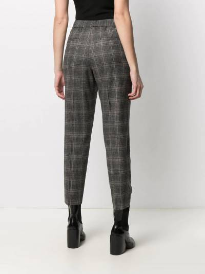Peserico cropped checked trousers P0457208305 - 4