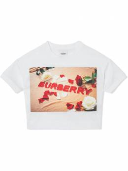 Burberry Kids TEEN confectionary logo-print t-shirt 8036910