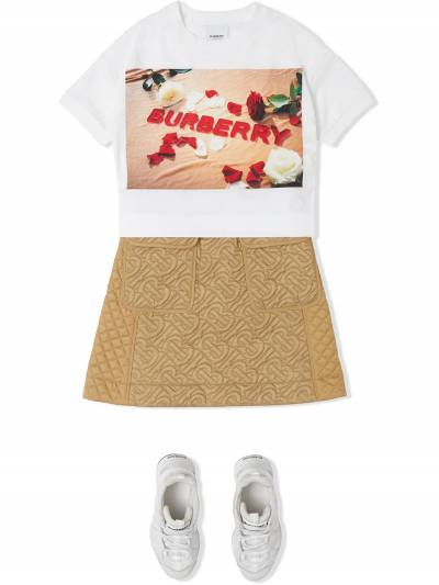 Burberry Kids TEEN confectionary logo-print t-shirt 8036910 - 2