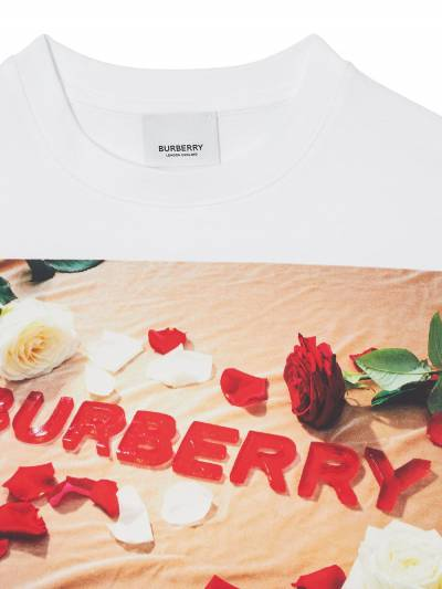 Burberry Kids TEEN confectionary logo-print t-shirt 8036910 - 4