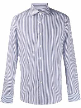 Canali striped cotton shirt X58GD00639