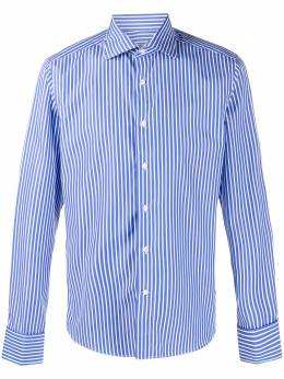Canali striped cotton shirt NX58GR02274