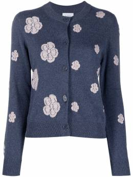 Barrie floral-embroidered cardigan C156202
