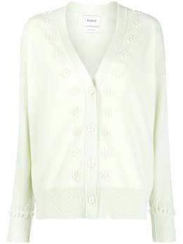 Barrie embroidered cashmere cardigan C27294