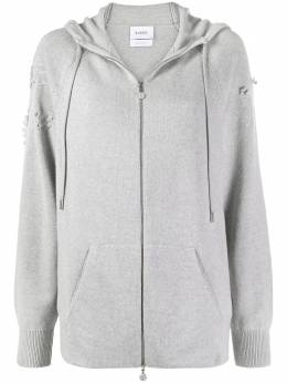 Barrie embroidered cashmere hoodie A00C55275