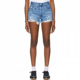 Levi's Blue 501 Original Shorts 56327-0081