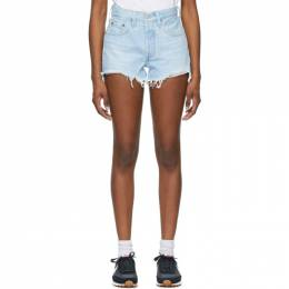 Levi's Blue 501 Original Shorts 56327-0086