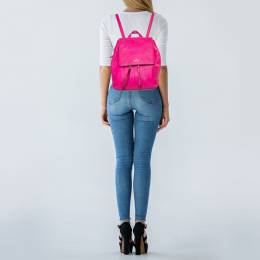 Pink Leather Backpack 428634 Kate Spade