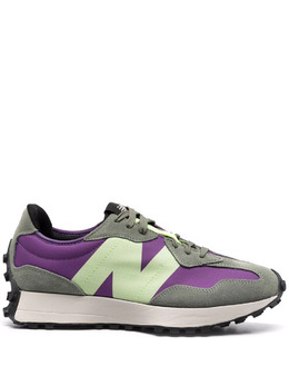 New Balance colour-block panelled low-top sneakers MS327TC