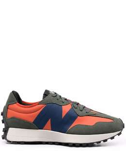 New Balance colour-block panelled low-top sneakers MS327TB